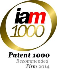 2014 edition of IAM 1000 – The World's Leading Patent Professionals included Tritech Patent